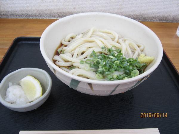 「ぶっかけ冷中 380円」@さぬき麺輝屋 丸亀本店の写真
