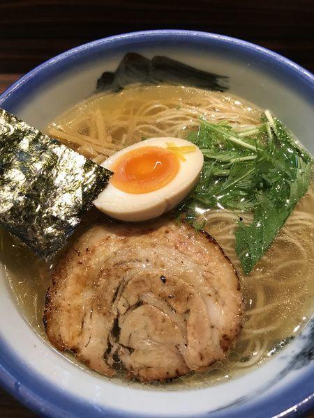 「柚子塩らーめん ¥1080」@AFURI 三軒茶屋店の写真