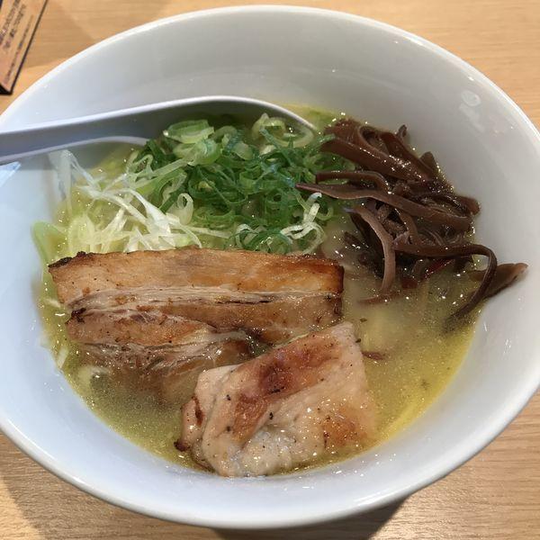 「なにわ鶏そば(¥650)」@728麺飯酒場チャオチャオの写真