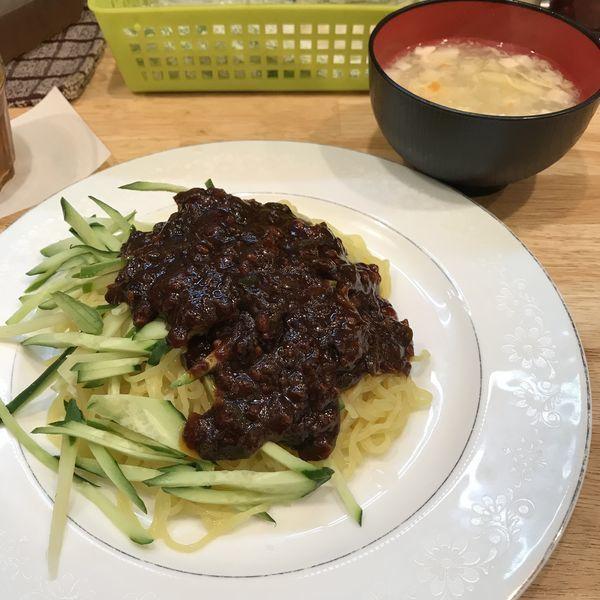 「【ランチ限定】ジャージャ麺(¥500)」@わんわん庵の写真