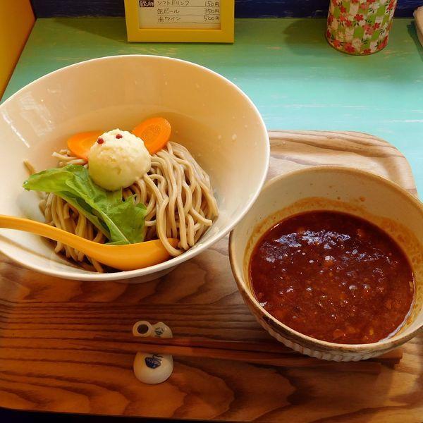 「ビーフつけ麺(並 900円)」@ビーフラーメン&つけ麺 シゲジンの写真