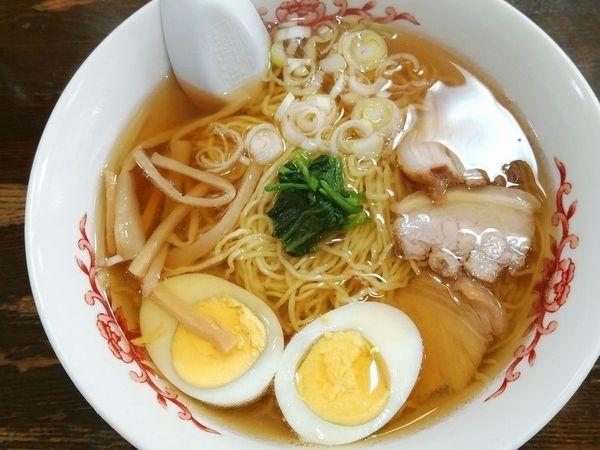 「ラーメン+ゆで卵」@めんどころくら田の写真