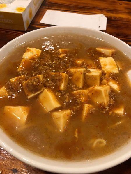 「麻婆麺 770円+無料半ライス」@長崎ちゃんぽん皿うどん どんくの写真