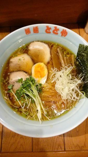 「ホットととや   650円」@柳麺 ととやの写真