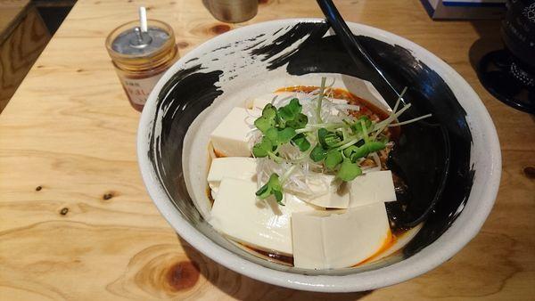 「【夏麺第四弾】冷やし麻婆豆腐のあんかけそば」@麺場 浜虎 横浜店の写真