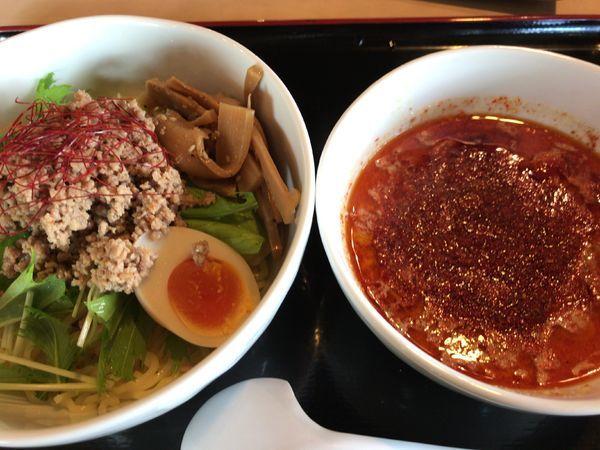 「シビ担つけ麺950円」@笑楽亭 SBC通り店の写真