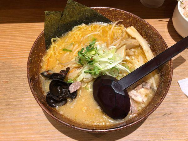 「味噌ラーメン」@白樺山荘 京都店の写真