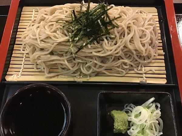 「ざる蕎麦」@気仙沼料理処 鼎やの写真