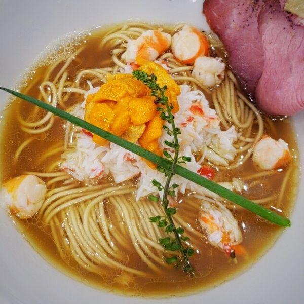 「【限定】感謝の鮮魚そば 990円」@麺's キッチン RIRIの写真