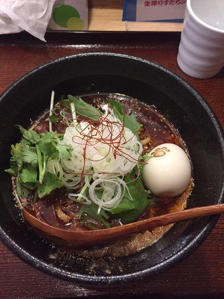 「担々麺」@森下の小粋な長屋ラーメン 熊八の写真