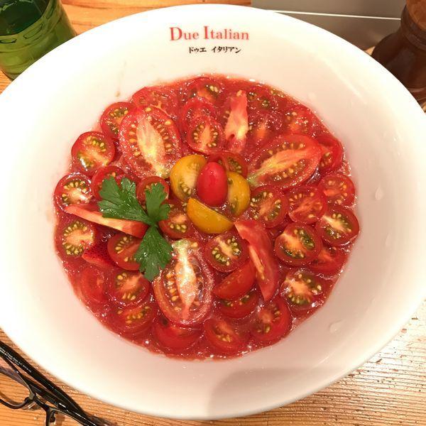 「冷製トマトコレクション2018」@黄金の塩らぁ麺 due Italian 横浜の写真