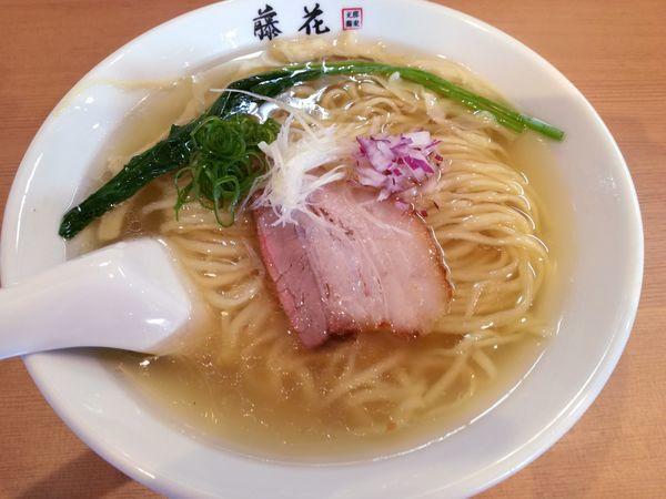 「塩らぁ麺」@支那蕎麦屋 藤花の写真