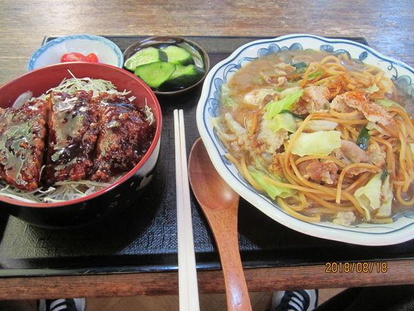 「すまろセット1200円」@お食事処 四方路の写真