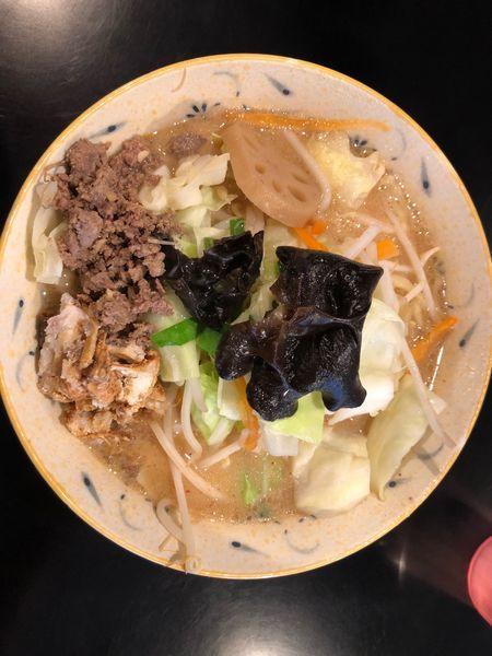 「濃厚味噌タンメン 大盛り」@みそ味専門マタドールの写真