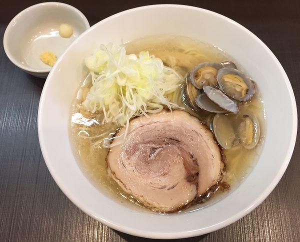 「塩らーめん750円」@麺屋 りゅうの写真