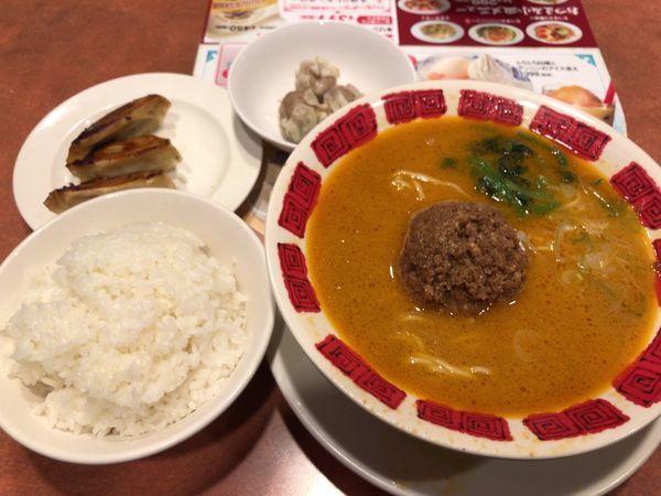 「担々麺 755円」@バーミヤン 立川北口店の写真