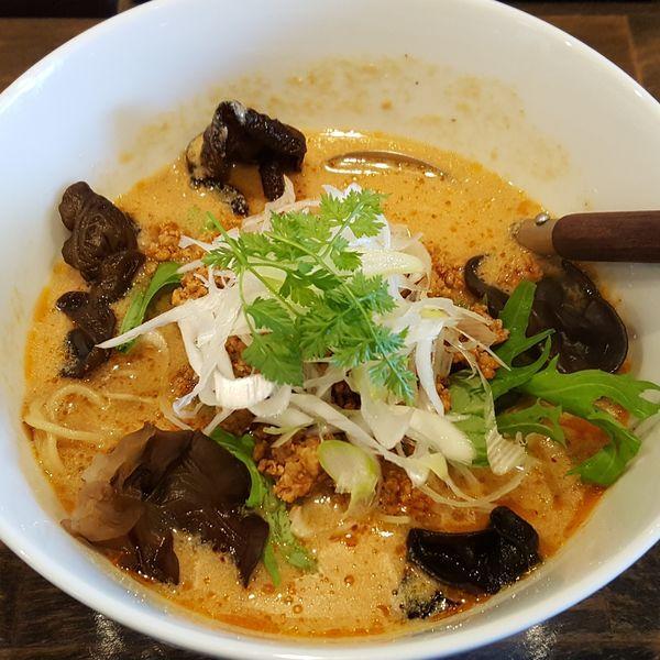 「にし森担々麺 ¥780」@担々麺 にし森の写真