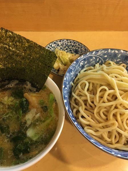 「つけ麺(中)+味玉」@ラーメン社井田の写真