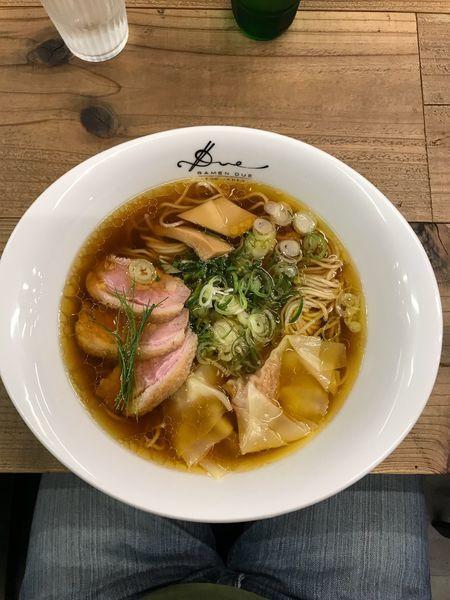 「醤油らぁ麺 1,000円」@Ramen ドゥエ Edo Japanの写真