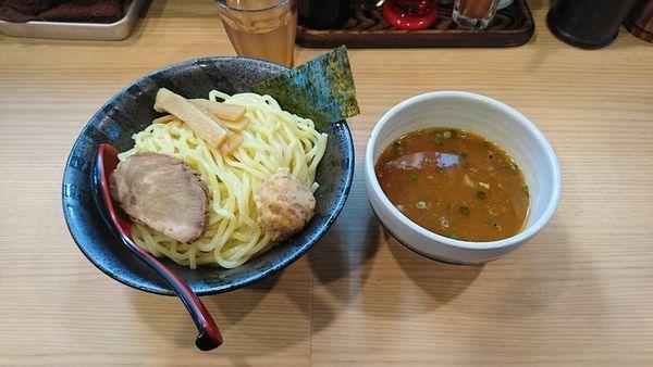「海老つけ麺780+大盛100」@麺屋 海道の写真