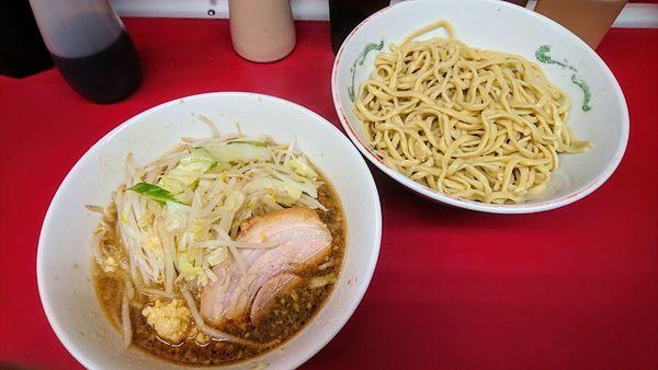 「つけ麺(麺少なめ・ニンニク)」@ラーメン二郎 湘南藤沢店の写真