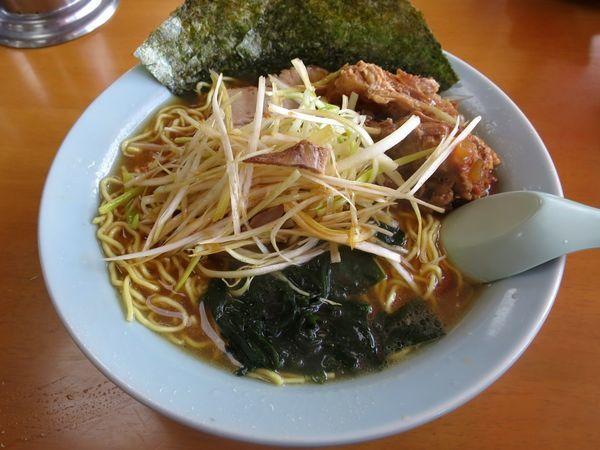 「ねぎなん骨ラーメン 950円 ※麺硬め」@ラーメンショップ大神保店の写真