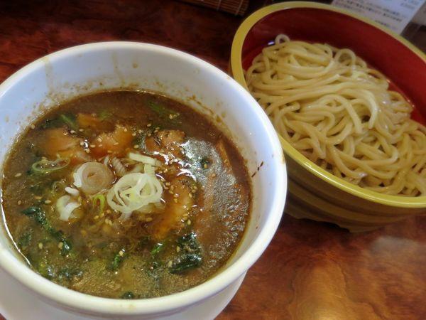 「冷つけ麺(小) 780円」@つけ麺 目黒屋の写真