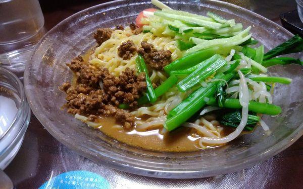「冷やし担々麺」@中国美食 唐苑酒楼の写真