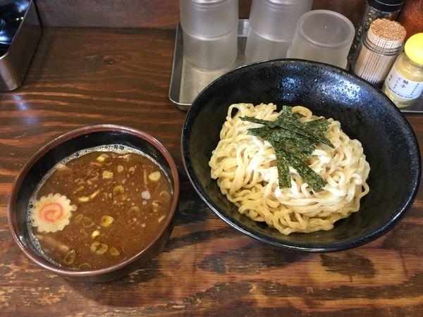 「つけ麺300g(¥830)」@麺屋いちびりの写真