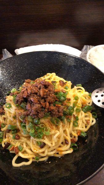 「成都担々麺+ミニジャスミンライス」@香噴噴 東京木場の写真