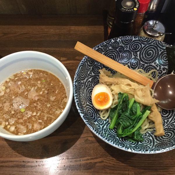 「塩つけ麺(こってり) 半麺」@麺屋 なごみの写真