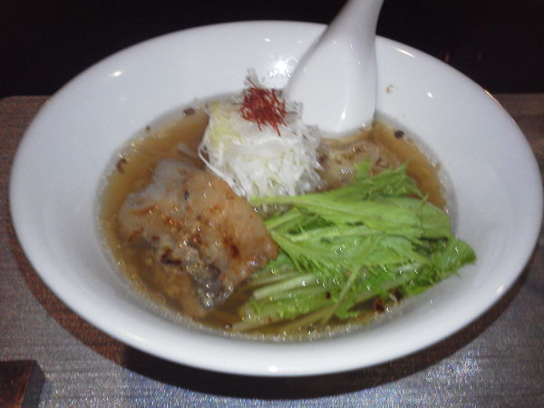 「玄瑛流拉麺(汐香る醤油拉麺)」@GENEI.WAGANの写真