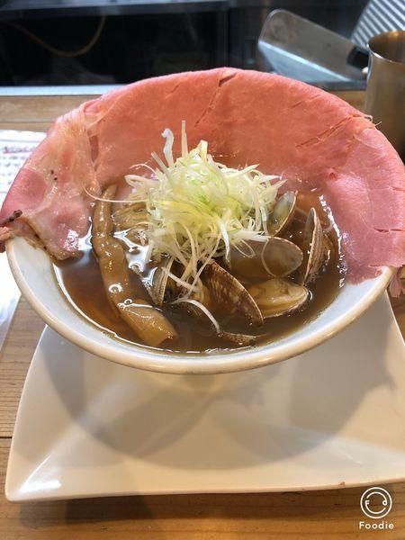 「あさりラーメン+貝飯」@くそオヤジ最後のひとふりの写真