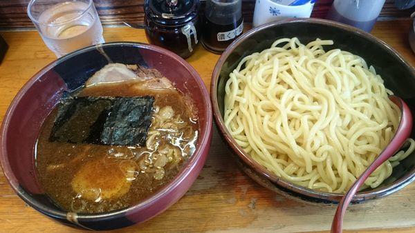 「醤油つけ麺」@竹屋 新秋津店の写真