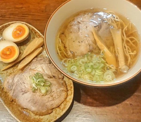 「特製厳選七種の煮干そば(正油)」@中華そば GO.TO.KU ~仁~の写真