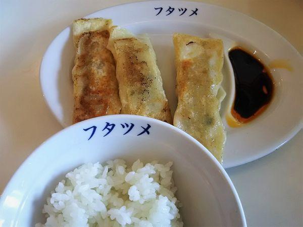 「ギョウザセット¥180+税」@フタツメ 伊勢崎店の写真