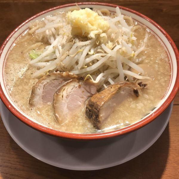 「麺少なめ味玉付き(¥780)」@らーめんバリ男 大門店の写真