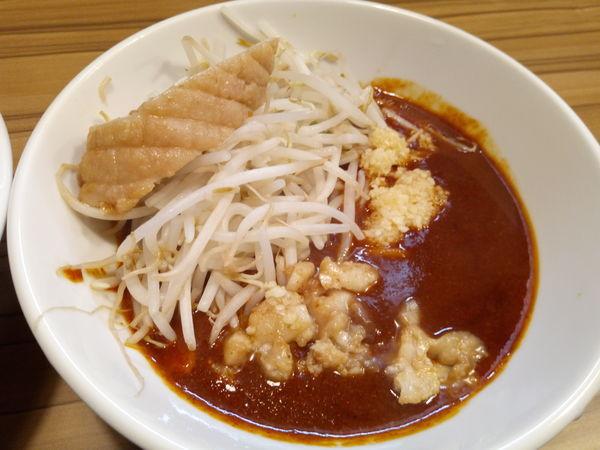 「火の頂つけ麺」@火の豚 南越谷駅前店の写真