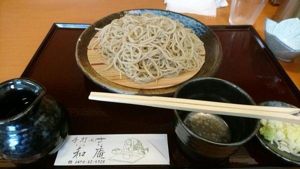「せいろ大盛り910円」@和庵の写真