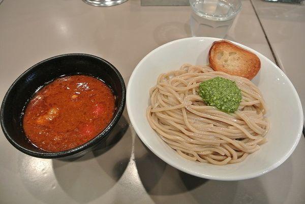 「海老トマトつけ麺 880円」@つけ麺 五ノ神製作所の写真