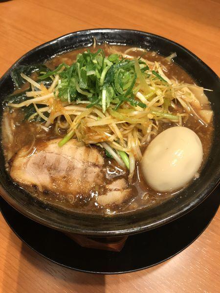 「米丸特製味噌」@焙煎味噌ラーメン 寿宝丸の写真