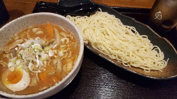 「豚ばらつけ麺 味噌」@麺屋ぱんどらの写真