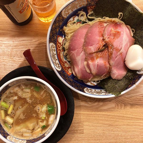 「特製すごい煮干つけめん」@ラーメン凪 福岡空港店の写真