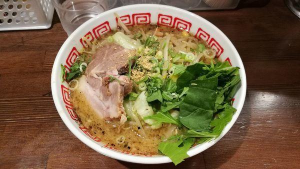 「黒味噌ラー麺 780円」@麺や 神笑の写真