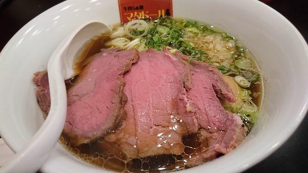 「贅沢醤油ラーメン」@牛骨らぁ麺マタドール ANNEXの写真