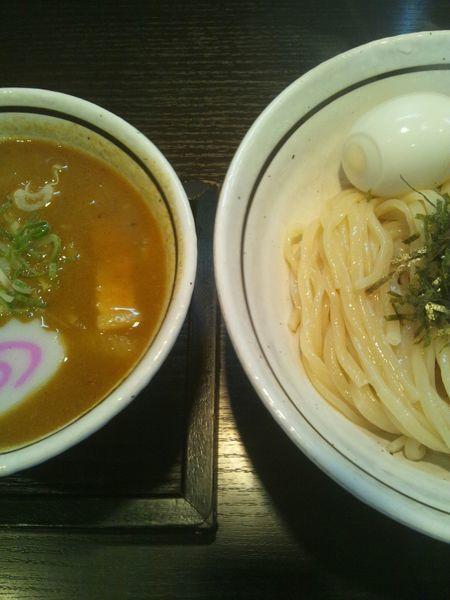 「カレーつけめん(味玉付き)」@麺の坊 晴ればれの写真