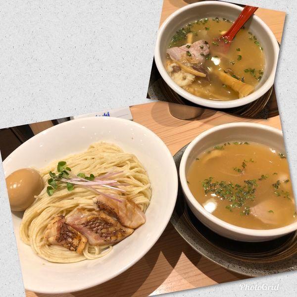 「[限定] 真鯛プレミアムつけ麺 ¥980」@京紫灯花繚乱の写真