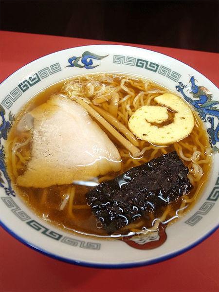 「醤油ラーメン…600円」@だるま軒の写真