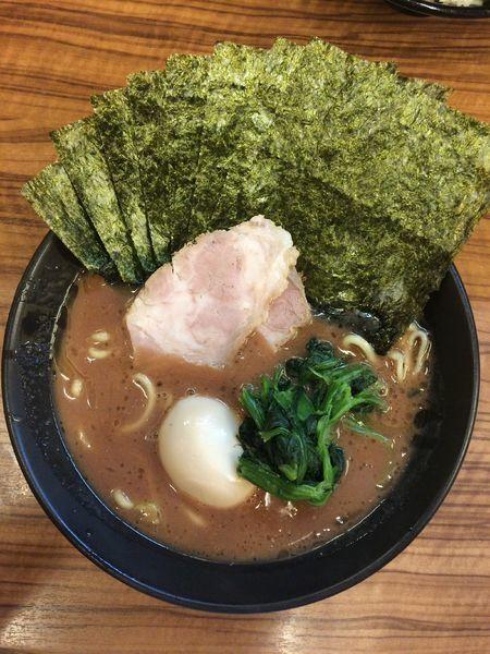 「のり半熟味玉らーめん」@横浜家系らーめん 二代目 武道家の写真