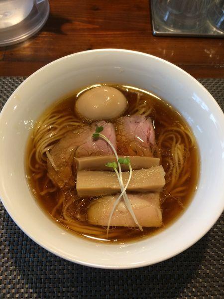 「味玉鶏そば930円」@らぁ麺 やまぐちの写真